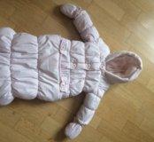 Mothercare детский комбинезон 0-3 месяца