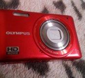 Olympus цифра vg130 в стальном корпусе + видео