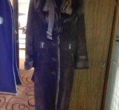Дубленка женская, 44 размер