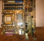 Материнкская плата ASUS P4P800-VM