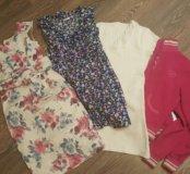Пакет вещей S 42-44.майки платья кофта футболка