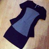Блузка с баской и юбочка