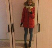 Пуховик ,обмен на пальто зимнее
