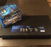 Blu-ray / DVD проигрыватель Sony BDP-S350