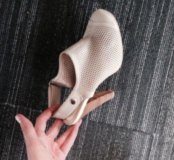 Туфли Basconi, бежевая кожа, р38