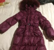 Малиновое пальто