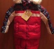 Зимний костюм для девочки НОВЫЙ