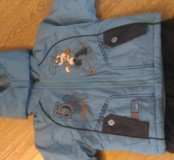 Зимний комбинезон и куртка для мальчика