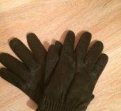 Кожаные перчатки zara