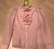 Блузка розовая Cleverly р.146