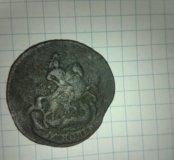 Копейка 1758 г