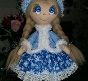 Снегурочка. Куклы текстильные. Подарки.