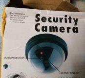 Макет камеры видео наблюдения
