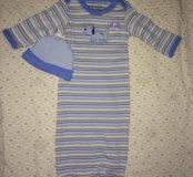 Ночная сорочка для новорожденного