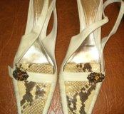 Туфли - натуральная кожа