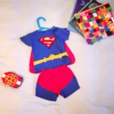 Костюм супермена 6-12 месяцев