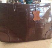 Кожанная женская сумка.