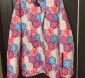 Куртка горнолыжная(очень тёплая)