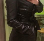 Куртка заменитель кожи, весна осень