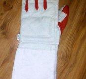 Перчатка для фехтования левая