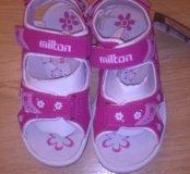 Новые сандалики Milton