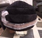 Замшевая шляпка