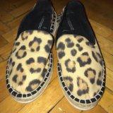 Леопардовые эспадрильи h&m