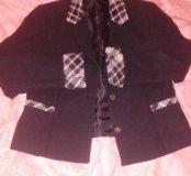 Школьный пиджак, р.32, на рост 122