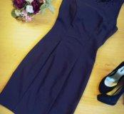 Серое платье карандаш H&M