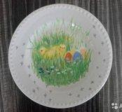 Тарелки с пасхальной тематикой