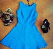 Бирюзовое платье от Love Republic