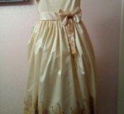 Платье для торжества на 8-11 лет