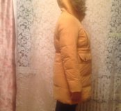 Куртка женская пуховик-парка