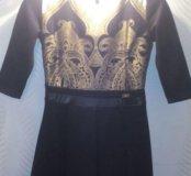 Платье с арнаментом