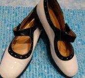 Туфли лаковые для девочки LeMonti Kids