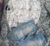 Летняя рубашка и шорты