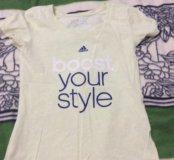 Женская футболка(2 цвета на выбор)