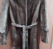 Шуба мутоновая 44-46 размер