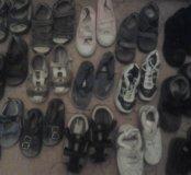Очень много обувь