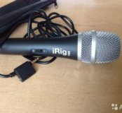 iRig mic микрофон для iPhone iPad