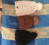 Продам 3 шапки