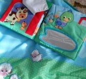 Развивающий коврик+мягкая книжка