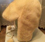 Шапка женская из норки. Размер 56-57.