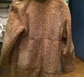 Продаю кожаное пальто-дублёнку