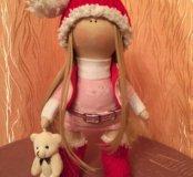 Интерьерная куколка Снежа