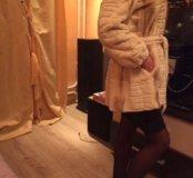 Шуба норковая коллекционная SagaMink