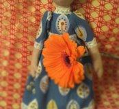 Текстильная кукла Варвара
