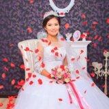 Свадебное платье + все аксесуары (ручная работа)