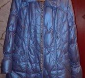 Полу-пальто  с капюшоном