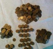 Монеты СССР 1, 2,3,5,10,15,20,50